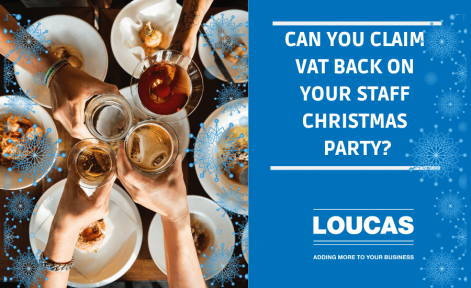 Can you Claim VAT Back on your staff Christmas Party