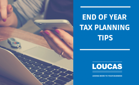 End Of Year Tax Planning Tips