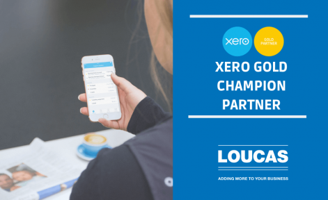 Loucas Xero Gold Champion Partner