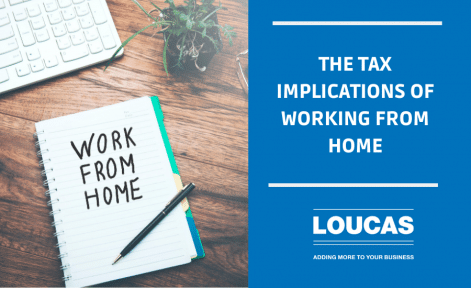 The tax implications of working from home