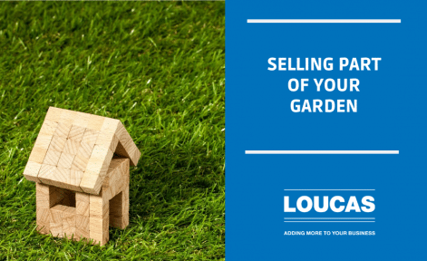 Selling Part of your Garden