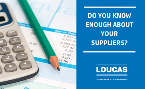Do you know enough about your suppliers