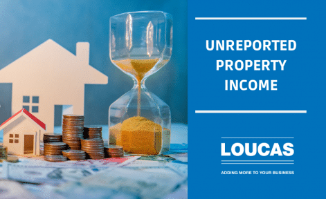Unreported Property Income